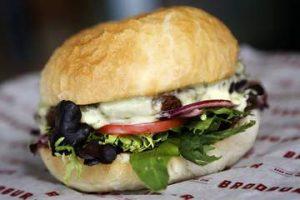 Brodburger Beef Burger Source: Goodfood.com.au