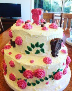 My nieces Minnie Mouse birthday cake