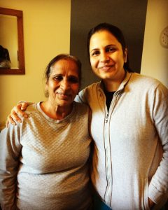Sharda and her lovely daughter-in-law