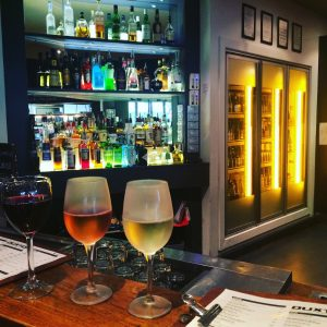 A gorgeous stop light of wines @theDuxton