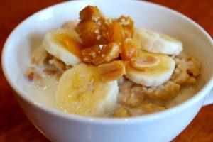 Elvis Peanut Butter and Banana Porridge