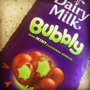 Cadbury's Bubbly Milk Chocolate