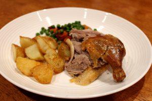 Roast Duck and Potatoes
