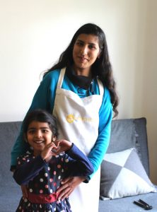Nida and her gorgeous daughter